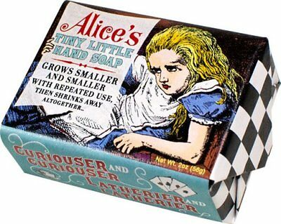Alice in Wonderland: Alice's Tiny Little Hand Soap: Soap 2 oz. Bar