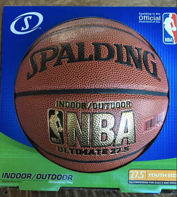 Spalding NBA Ultimate Basketball Indoor / Outdoor - 27.5 Composite Leather Cover