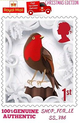 New 1st Class Standerd letter Postage Stamps DISCOUNT OFFER Christmas Edition