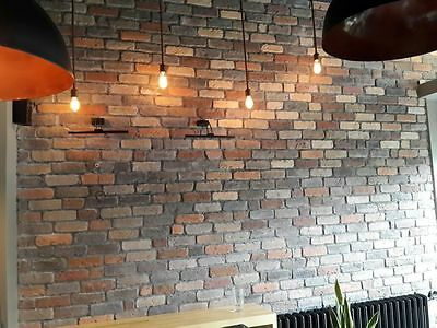 Old Seattle Brick Slips, Wall Cladding, Feature Wall, Brick Tiles SAMPLE