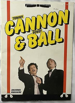 CANNON & BALL Souvenir Brochure 1985.