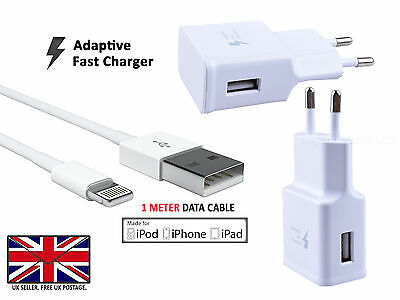 GENUINE FAST CHARGER USB Wall Power Adapter UK plug for