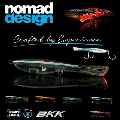 Nomad Design Skipping Popper Lure Dartwing 165