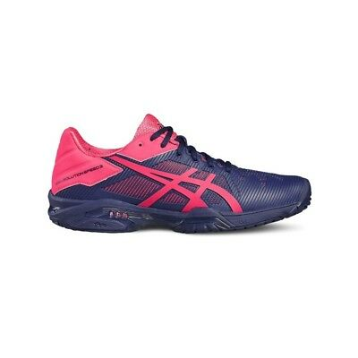 Zapatillas Asics Gel Solution Speed 3 marino-rosa mujer