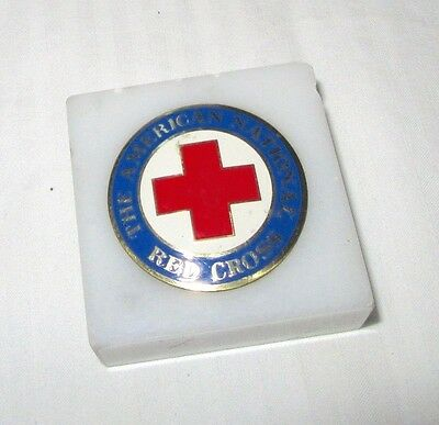 The American National Red Cross - Commemorative Paperweight  2""