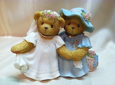 Cherished Teddies Destiny & Kay You've Never Looked More Beautiful 789658 Bride