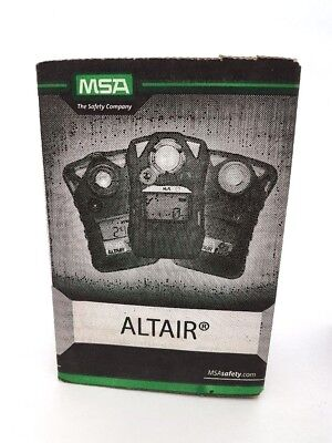 MSA ALTAIR Gas Meters (Lot of 11) ALTAIR H2S and ALTAIR O2 SOLD AS BOX LOT