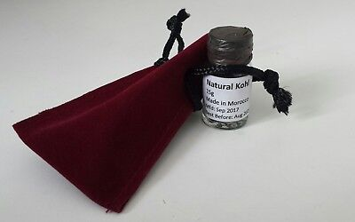 Natural Moroccan Kohl Kajal Eyeliner Black Powder Make up-BUY 2 GET ONE FREE