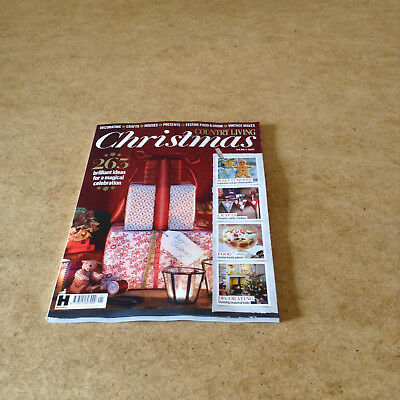 Country Living Christmas 2017 Festive Food & Drink Vintage Makes Decorating