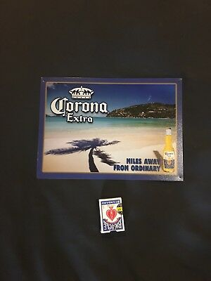 Corona Extra Beer Tin Sign
