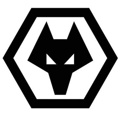 Wolverhampton Wanderes FC stickers, logo, badge, vinyl. all sizes and colours