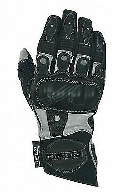 Richa Magma Grey - Leather Short Summer Motorbike / Motorcycle / Scooter Glove