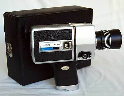Tomavistas Hanimex Loadmatic Mp 303 TL Super 8 con maletín
