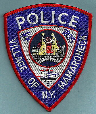 Mamaroneck New York Police Patch