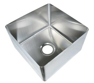 "BK Resources 16"" x 18"" x 14"" One Compartment Stainless Steel Weld-In Sink"