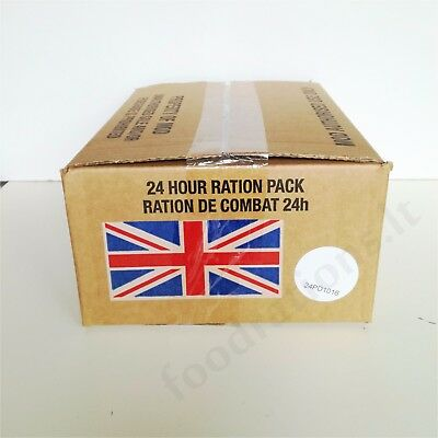 MRE BRITISH Military ORP 24H Operational Food Ration Daily Pack MENU Combat