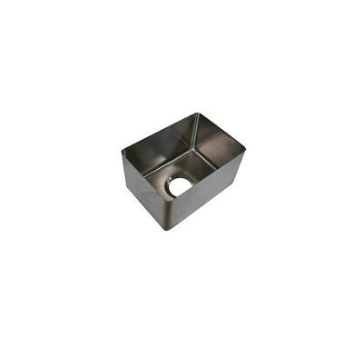 "BK Resources 11"" x 15"" x 11"" One Compartment Stainless Steel Weld-In Sink"