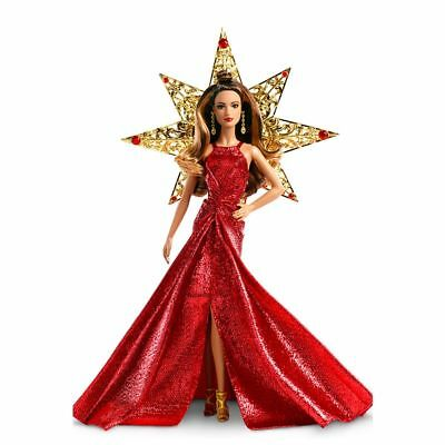 Barbie 2017 Collector HOLIDAY BARBIE Brunet Hispanic DYX41 New in Box