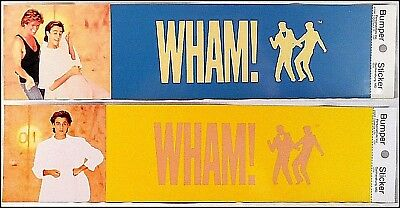WHAM! Lot Of 4 80's Bumper Stickers George Michaels
