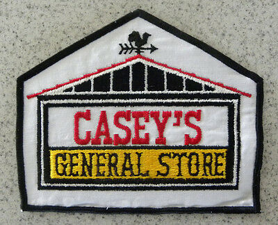"Casey's General Store,Caseys Convenience Gas Station Large 7"" Shirt,Jacket Patch"
