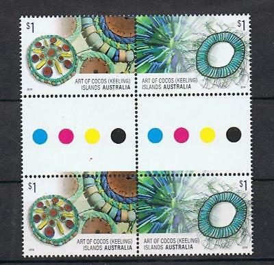 STAMPS  AUSTRALIA COCOS (KEELING) ISLAND 2016  2016 ART and CRAFT (GUTTER) MNH