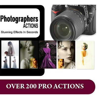 Photoshop Actions for Photography