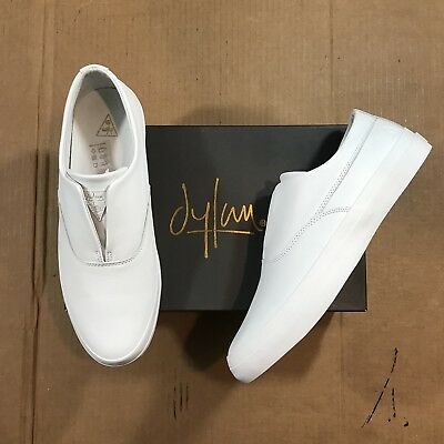 Huf Dylan Rieder Slip On Shoe White Leather Size 9