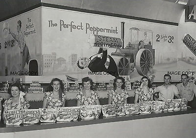 Allens Sweets m Steam Rollers , Show Bags, Sydney Australia c1950 V2