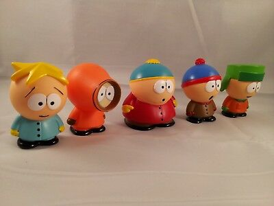 South Park Display Figures : Collectors Lot : 5 Figures