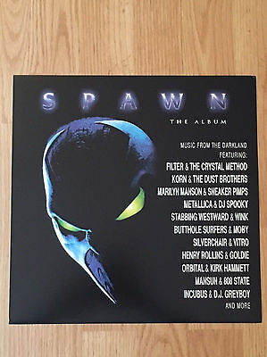 SPAWN Metallica Manson Korn Album Flat Double Sided Display Promo 1997