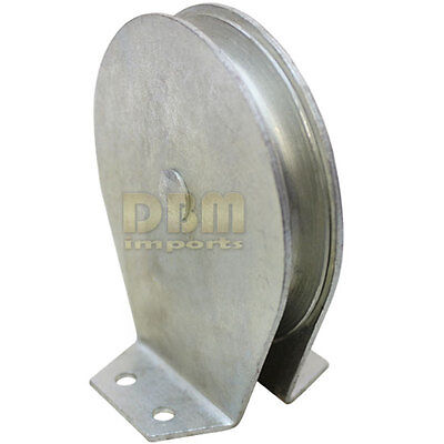"""2"""" Flat Mount Snatch Block 600 LBS Pulley FREE SHIPPING"""