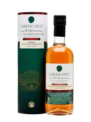 Green Spot Leoville Barton Bordeaux Finished Irish Pot Still Whiskey 700ml