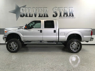 2011 Ford F-250  2011 F250 XLT 4WD V8 CrewCab ShortBed Superlift 22s 37s leather NorthTexas!
