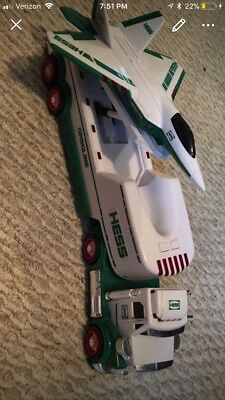 2010 Hess Toy Truck and Jet Plane