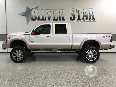 2012 Ford F-250  2012 F250 King Ranch CrewCab SuperLift 37s 22s FX4 Powerstroke 1NorthTexasOwner