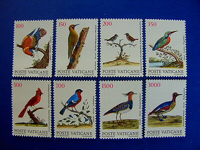 1989 Birds MNH Stamps from Vatican