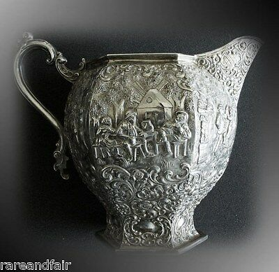 Barbour Silver Company water pitcher - circa 1892