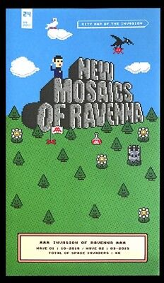 Invader MAP OF RAVENNA Invasion Map # 24 Limited Edition of 1000 PREORDER******