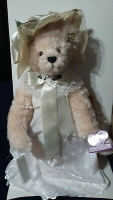 Annette Funicello bear with box