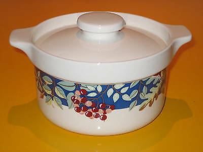 "WADE NUTS&BERRIES BOWL/TUREEN unused     DIA 7""         (1.5/262)"