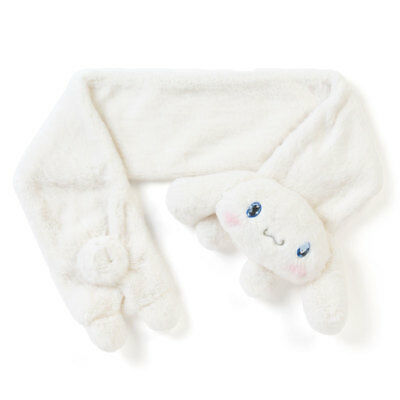 New Sanrio Cinnamoroll Boa Face Muffler Plush Doll Stuffed Kawaii Japan