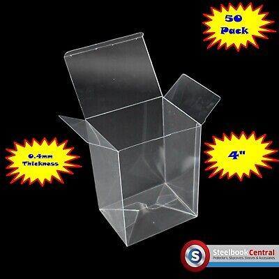 "FP1 Display Box Cases / Protectors For 4"" Funko Pop Vinyl Protector (Pack of 50)"