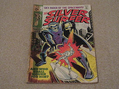 THE SILVER SURFER, No 5, Marvel Comics, April 1969