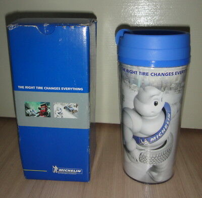 Michelin Tires Water Tumbler Bottle Thailand Promo....Rare!