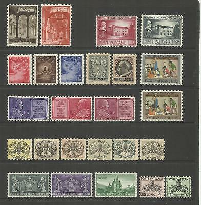 Vatican ~ Small Early Collection Mint Mnh