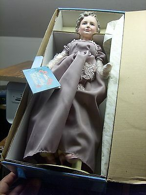 """Vntg Orig Mint N Box 15"""" Bess Truman First Lady Collection Doll W/coa Smithsonia"""