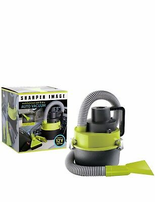 NEW Sharper Image Car Wet and Dry Vacuum Cleaner 12 Volt - FREE Shipping!