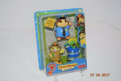 Fisher Price Wonder Pets Career Heroes Figure Pack - Read Comments/Scan Pics NEW