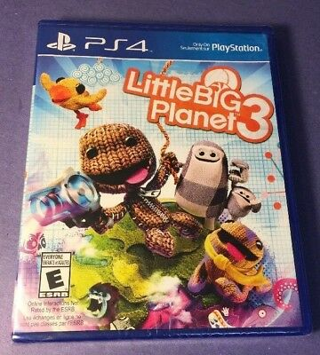 LittleBigPlanet 3 = Little Big Planet 3 = (PS4) NEW