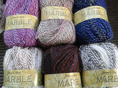 James Brett Marble Double Knit 100 Gm